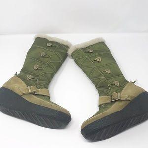 Donald J. Pilner Sport-I-Que Pamela olive boots